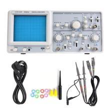 2 канальный осциллограф YD4320, 20 МГц, Высокочувствительный аналоговый осциллограф с двумя следами, 220 В