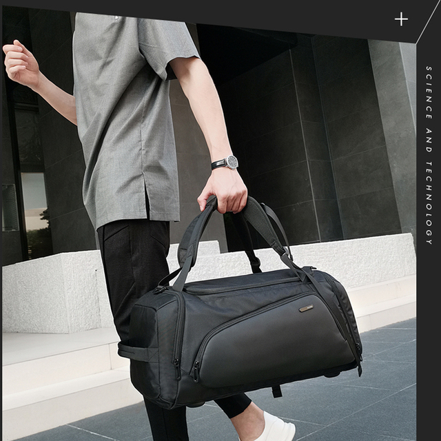 Bange Multifunction Large Capacity Men Travel Bag Waterproof Duffle Bag for Travel Backpack Hand Luggage Bags with Shoe Pouch 1