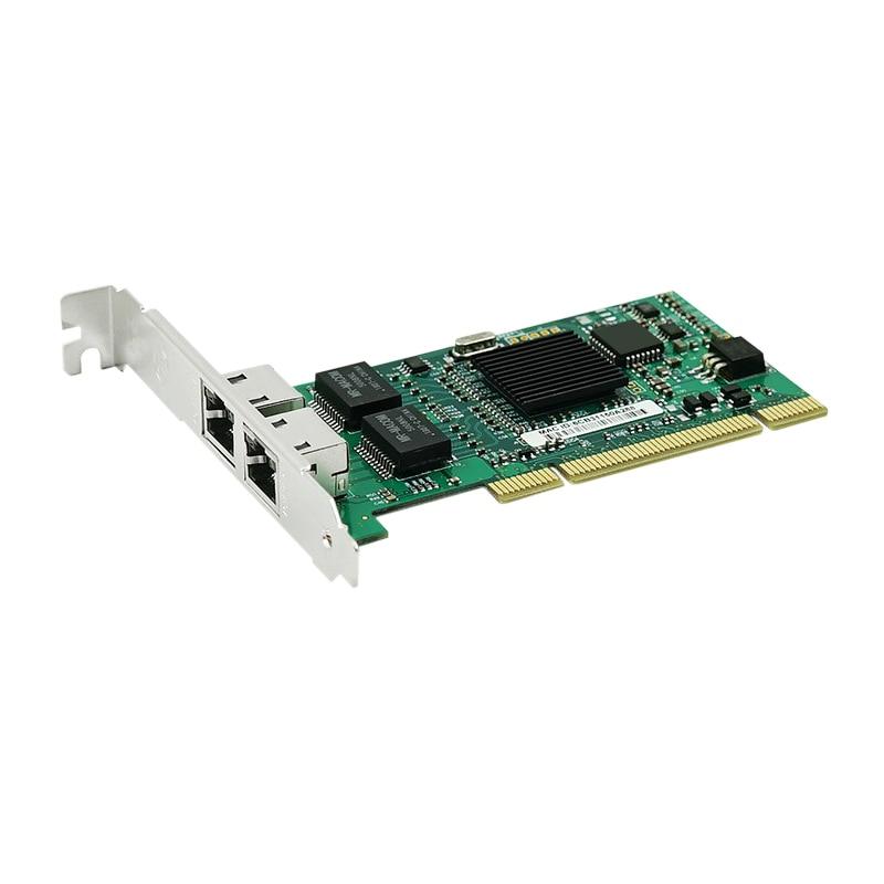 Pci Dual Rj45 Port Gigabit For Ethernet Lan Network Card 10/100/1000Mbps For Intel