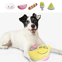New Fashion Dog Chew Toy Plush Pet Toys Squeaking Pet Toy Clean Toothbrush for Puppy for Small Big Dogs Accessories Supplies