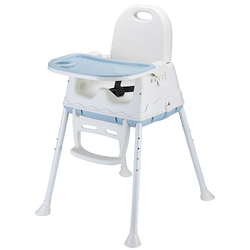 Baby Dining Chair Safety Belt Cover Children High Chairs Foldable Portable Seat Lunch Kids Chair Eat Table Feeding Highchair