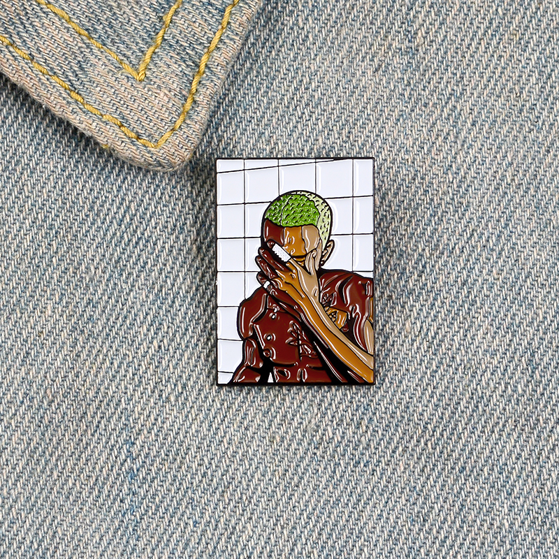 Rock You Enamel Pin OD HS Queen David Bowie MJ Brooches Bag Clothes Lapel Pin Badge Rock and Roll Band Jewelry Music Lovers 6