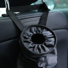 Car Dustbin Back-Storage Organizer Pocket-Bags Trash-Can Garbage-Bag Rubbish R15 Bin-Box-Case