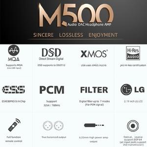 Image 5 - SMSL M500 DAC MQA ES9038PRO ES9311 XMOS XU 216 32bit 768kHz DSD512 היי Res אודיו מפענח & אוזניות מגבר
