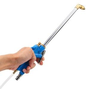 Image 3 - Pistola ad acqua del motore dello strumento di pulizia pneumatico della pressa alta con gli strumenti del pulitore dellolio del motore dellautomobile del tubo flessibile 40cm di 100cm