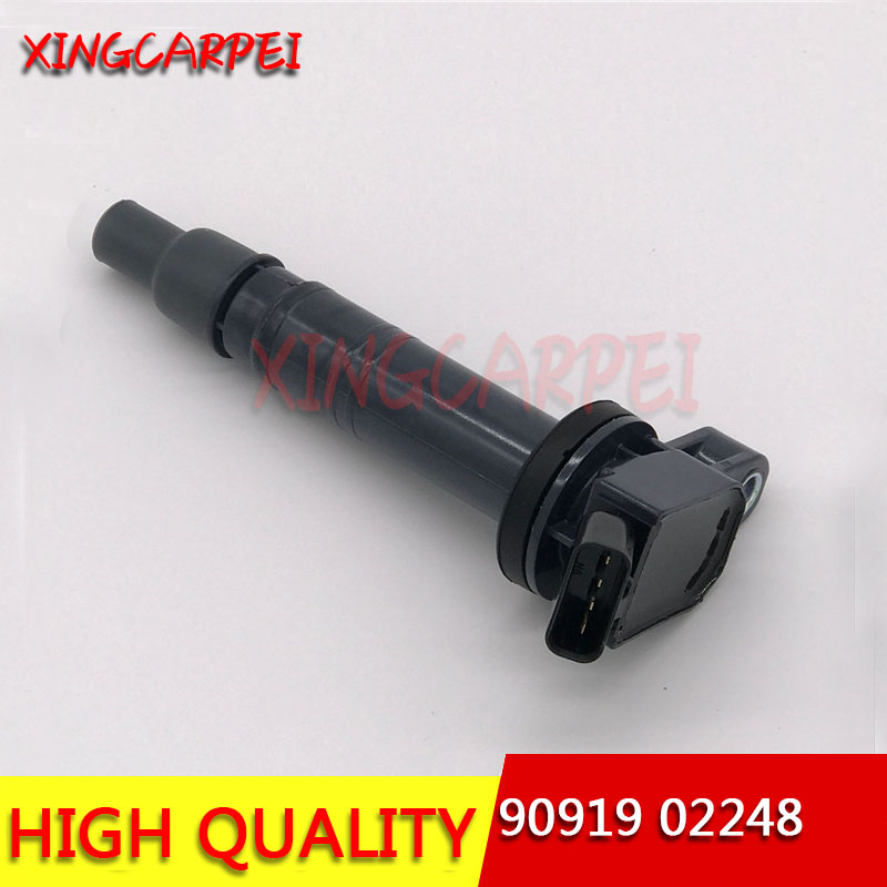 1pc <font><b>90919</b></font>-<font><b>02248</b></font> Ignition Coils For Toyota Tundra Tacoma FJ Cruiser Lexus <font><b>90919</b></font> <font><b>02248</b></font> 9091902248 Auto Part image