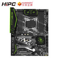 Huanan zhi X99-F8 placa-mãe do jogo intel x99 lga 2011-3 todas as séries ddr4 recc 128 gb m.2 nvme m.2 wifi usb3.0 atx servidor mainboa