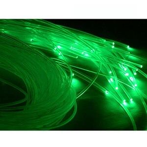 Image 5 - 6000 mt/Rolle 0,5mm durchmesser PMMA ende leuchten kunststoff opticas faser LED glasfaserkabel für LED licht motor express kostenloser versand