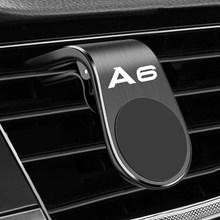 Metal Magnetic Car Phone Holder for Audi A6 Q3 B5 B6 B7 B8 B9 Q7 8P 8V 8L A5 C6 C5 C7 4F A1 A7 A8 Q2 RS3 RS Accessories