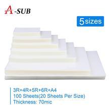 Thermal Laminating Film 5 Size (3R