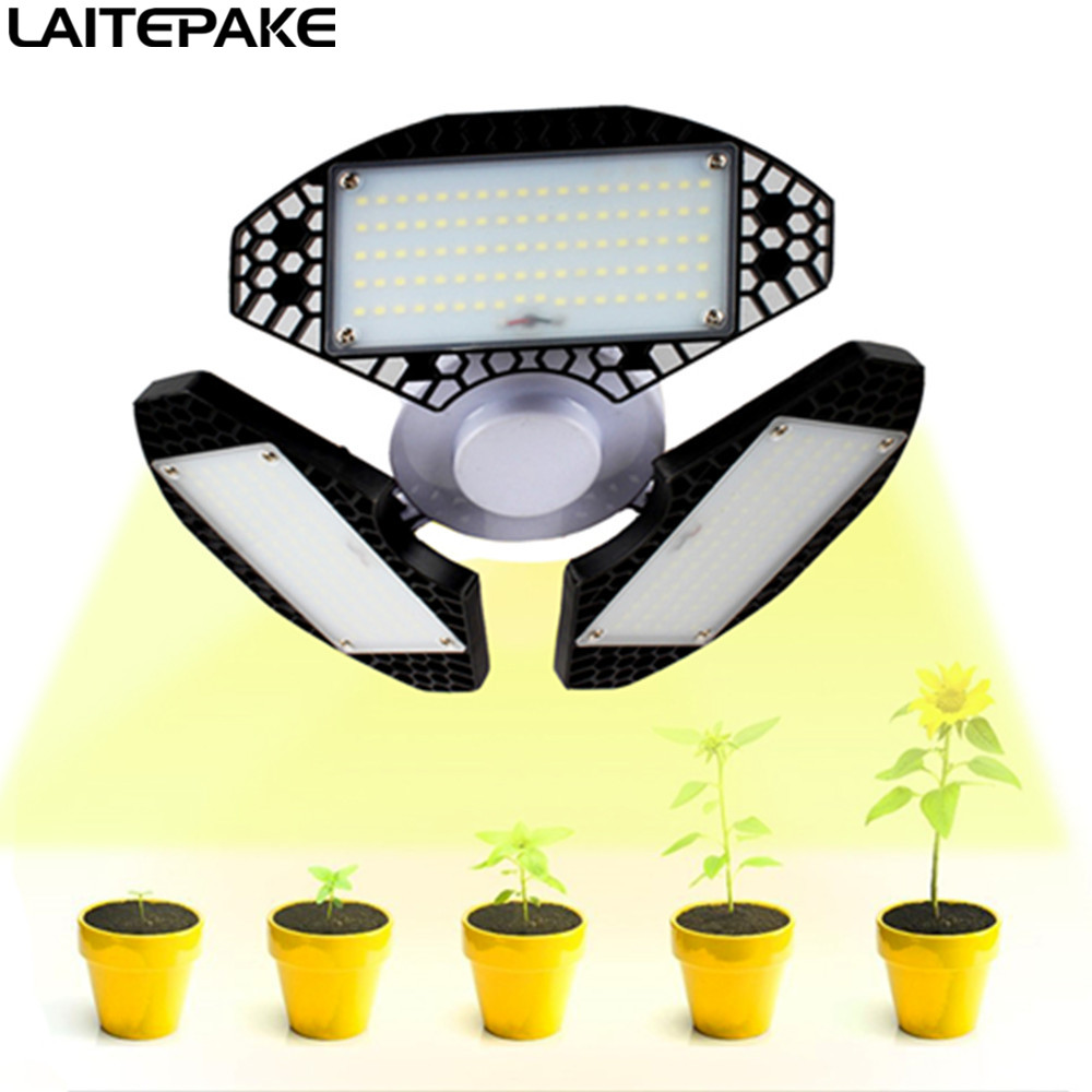 E27 LED Grow Light 240W 300W Full Spectrum Adjustable Shape For Greenhouse Indoor Plant And Flower Phyto Lamp