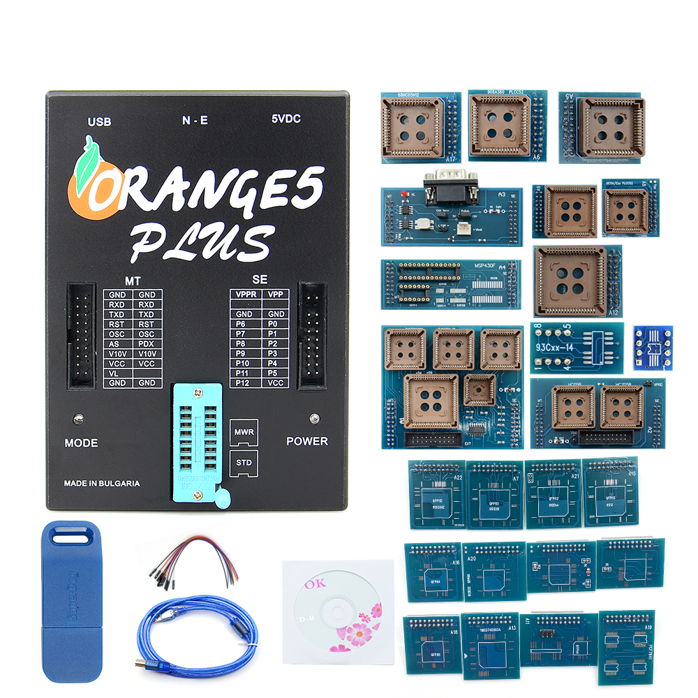 OEM Orange5 With Full Adapter Professional Full Packet Hardware And Software Orange5 PLus V1.35 With Best Price