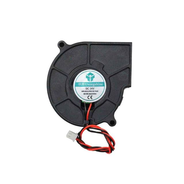3D drukarki wentylator chłodzący 5015 50x50x15mm odśrodkowy wentylator dmuchawy 5V 12V 24V 2-Pin bezszczotkowy chłodzenia wentylator chłodnicy
