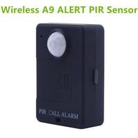 LESHP A9 Mini PIR Alarm Sensor Infrared GSM Wireless Alarm High Sensitivity Monitor Motion Detection Anti theft EU Plug|Sensor & Detector| |  -