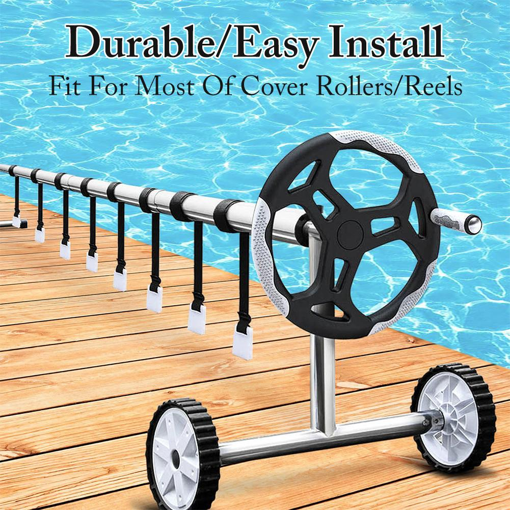 Solar Cover Reel Attachment Kit Firm Sturdy Swimming Pool Solar Reel Tube Covers From 10ft To 24ft Pool Rope Wide And More