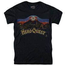 T-shirt de jeu de société Hero Quest Mb, Vintage, 1989