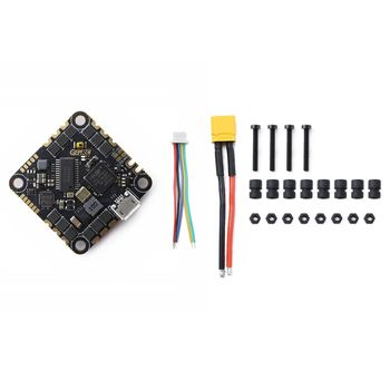 GEPRC GEP 20A F4 AIO F4 MPU6000 Flight Controller OSD 20A Blheli S 2-4S Brushless ESC 26.5x26.5mm for RC FPV Racing Drone