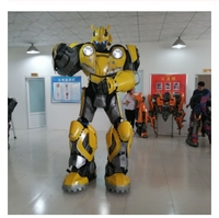 Bumblebee 1987 Wearable Armor Transformers Cosplay Wearable Armor for Optimus Prime and Megatron Cosplay party costume