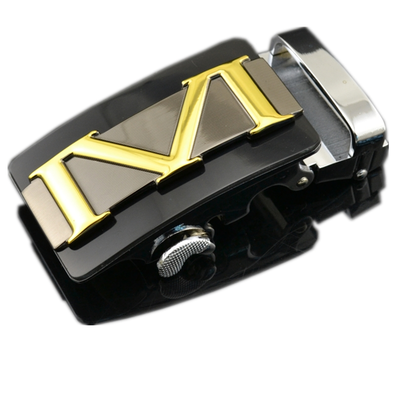 Wholesale Alloy Automatic Belt Buckle For Men Designers High Quality Suitable For Leather Width 3.5cm Fashion Brand Male Luxury