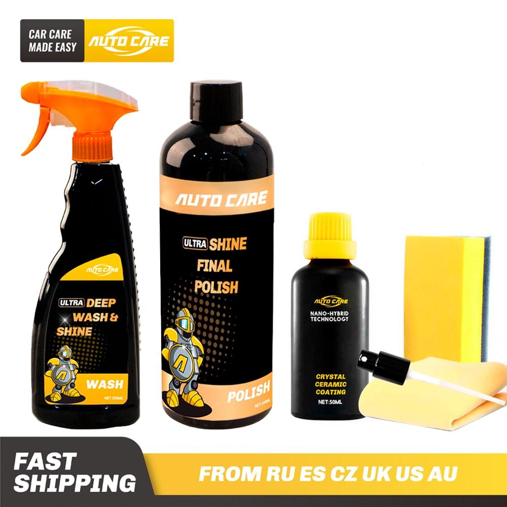 A Set Of Optical Grade Final Compound Polish Ultra Shine With Car Shampoo And Ceramic Coating