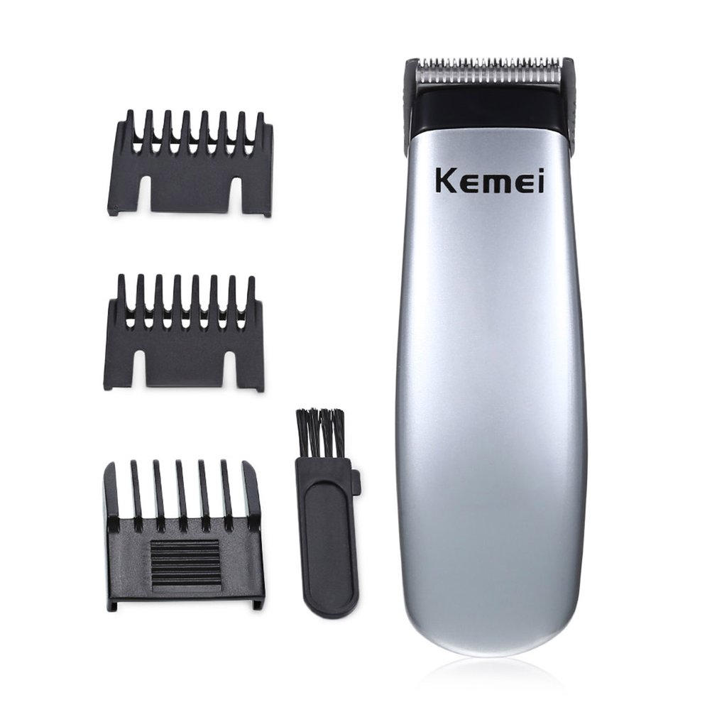 KM-666 Professional Beard Hair Trimmer Hair Cutter Electric Hair Clipper Hair Machine Hair Remover 2019 HOT
