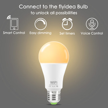 E27 B22 LED Bulb to unlock all possibilities Smart Control Easy dimming Set timers Voice WiFi AC85-265V Home lighting