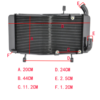 Motorcycle Aluminium Radiator For DUCATI 748 748S 916 996 996S 1994-2002 Engine Water Cooling
