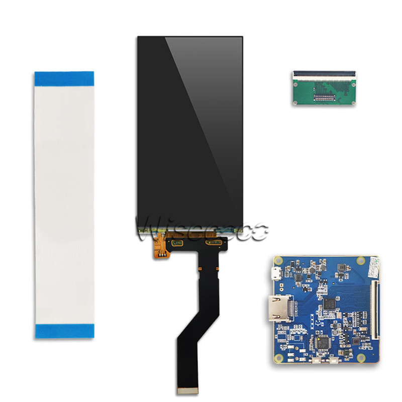 Image 5 - Wisecoco 6 inch 2K TFT LCD screen LS060R1SX02 display 1440x2560  with HDMI MIPI board for vr Video DIY projector 3D Printer panellcd  screen displaydisplay 6lcd screen