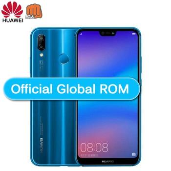 "Global Versionsmarthphone HuaweiP20 Lite Nova 3e Optional 4G 64G Mobile Phone Octa Core 5.84"" 3000mAh 2280*1080PDual Rear Camera"