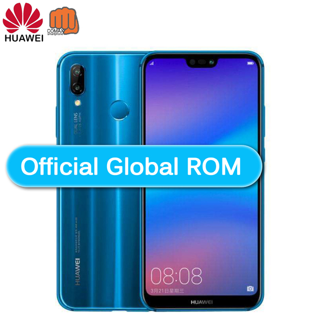 "Global Versionsmarthphone HuaweiP20 Lite Nova 3e Optional 4G 64G Mobile Phone Octa Core 5.84"" 3000mAh 2280*1080PDual Rear Camera"