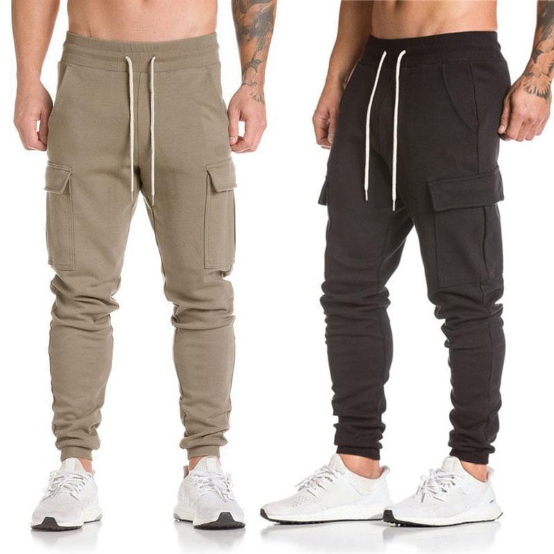Fashion Casual Pants Camouflage Pants Men's Sports Pants New 1PcsMen's Sports Pants Pockets Hip Hop Loose Ankle-Length Pants