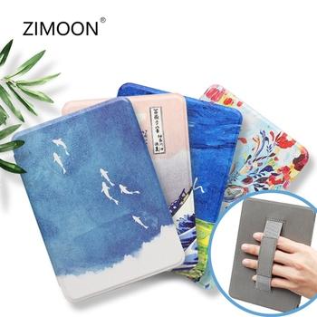 Dla wszystkich nowych Kindle 10 Obudowa Smart Cover dla Kindle Paperwhite 10 Twarda obudowa dla Kindle Paperwhite 4 3 2 tanie i dobre opinie zimoon Powłoka ochronna skóry CN (pochodzenie) ZMYY03 Drukuj 12cm Dla amazon kindle Na co dzień for kindle Odporne na upadki