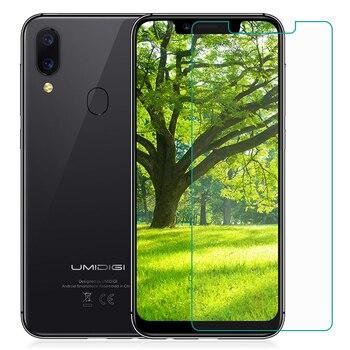 Перейти на Алиэкспресс и купить Закаленное стекло для UMIDIGI A3X A3S A3 Pro glass 9H защитная пленка Взрывозащищенная прозрачная защитная пленка для экрана телефона