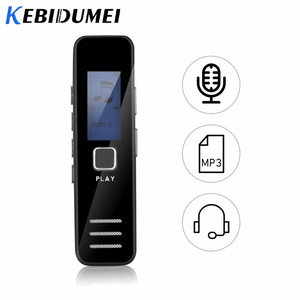 Image 2 - Kebidumei Digital Voice Recorder Recording MP3 Player 20 hour  Mini Voice Recorder Support 16GB TF Card Professional Dictaphone