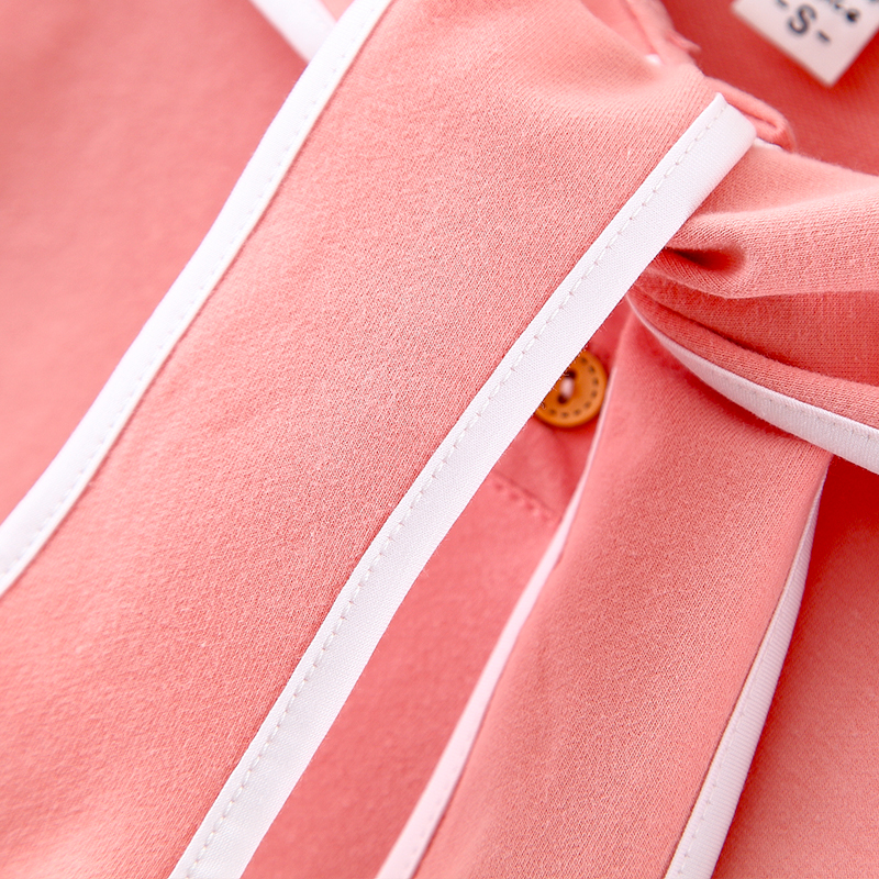 bebe criancas hoodies camisolas de algodao gravata 05