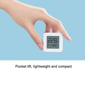 Image 3 - Thermomètre Bluetooth dorigine XIAOMI Mijia 2 thermomètre hygromètre numérique électrique intelligent sans fil fonctionne avec lapplication Mijia