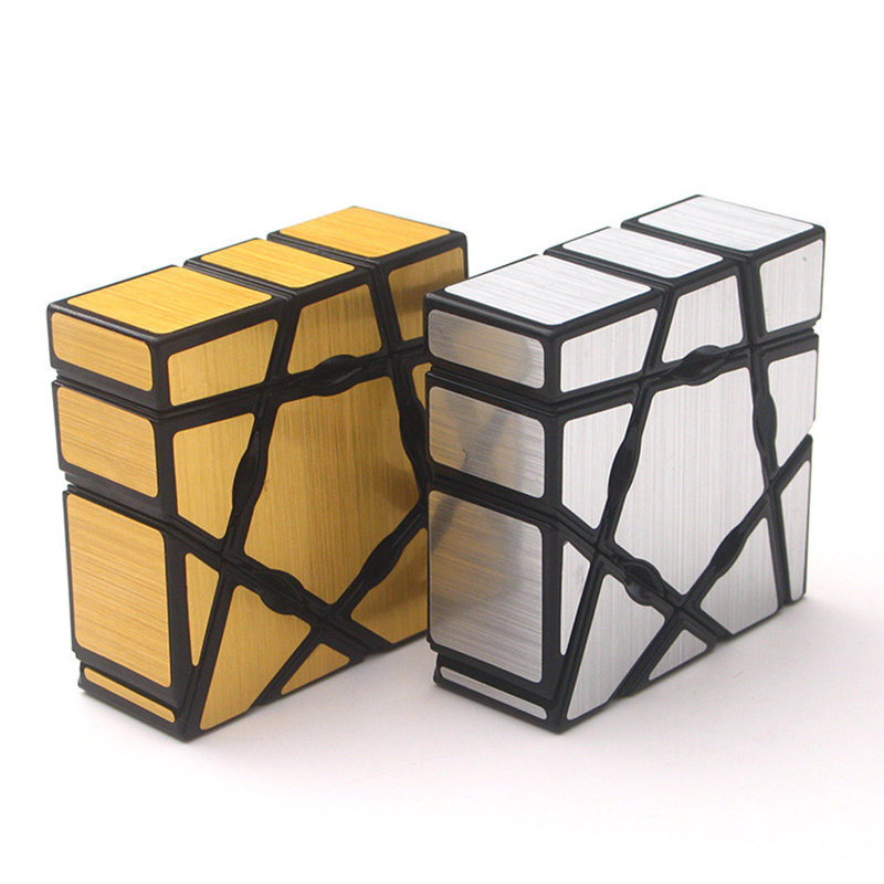 YongJun 1x3x3 Mirror Puzzle Magic Cube Professional Educational Learning Speed Brain Tester Twisty Cubo Magico Toys For Children