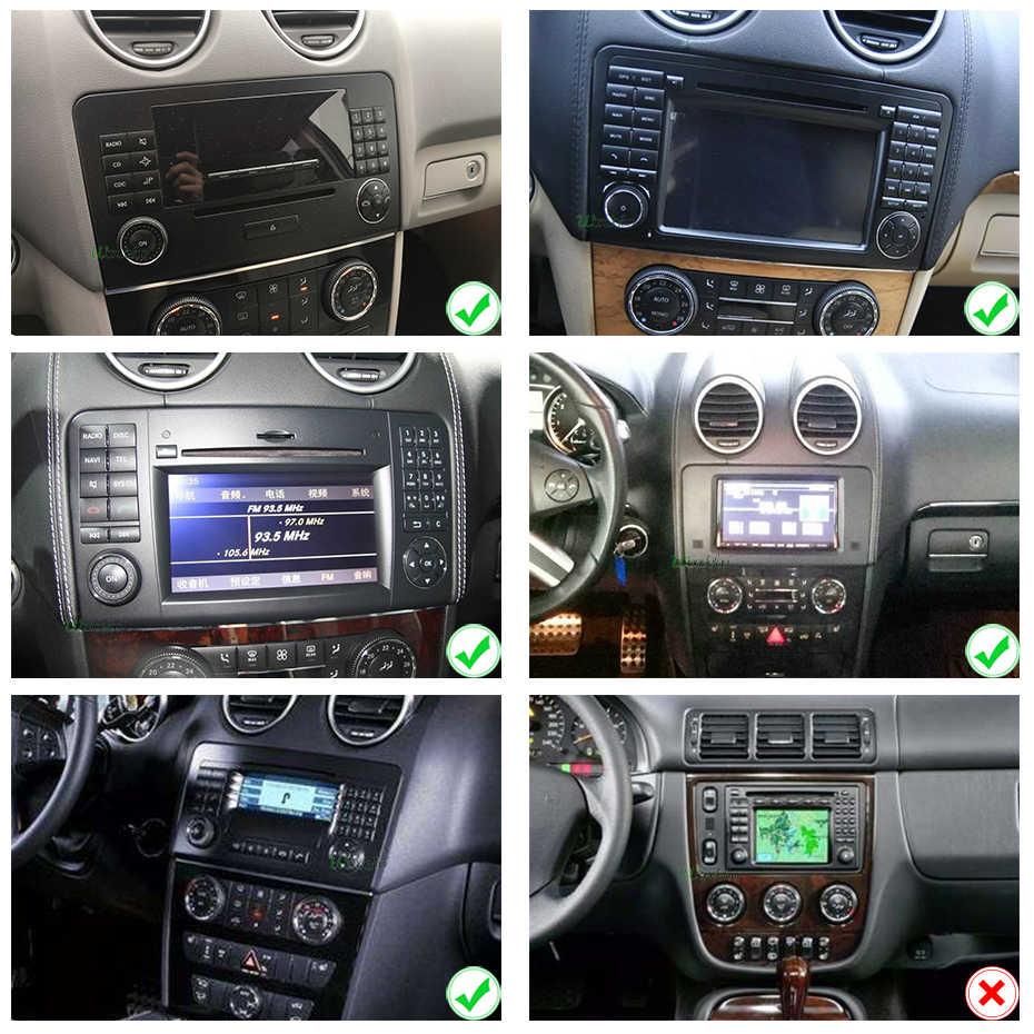 アンドロイド 9.0 4 グラム 64 グラム DVD プレーヤーベンツクラス GL500 W164 X164 ML350 ML300 ML320 ML280 GL350 GL450 ラジオナビゲーション