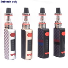 80W Vape Electronic Cigarettes E Hookah Pen mini Vaporizer Mech Box Mod 1800mah Smoke Vaping Starter Kits 510 Metal Body vapor(China)