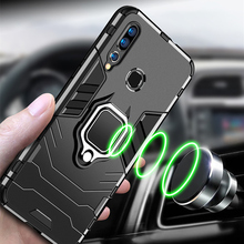 Magnetic car holder Phone Case For Xiaomi Redmi Note 8 7 5 6