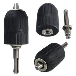 2-13 Mm Tanpa Kunci Bor Chuck Tangan Alat dengan Kunci dan SDS Adaptor