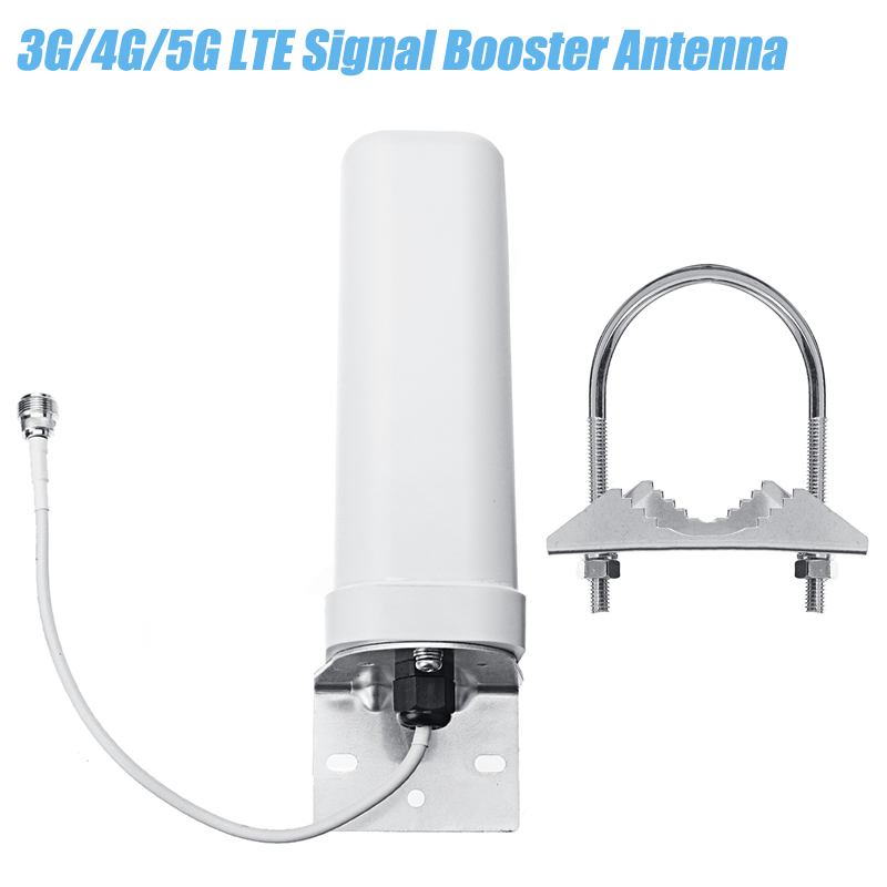 3G 4G 5G LTE Signal Booster Dual Band Sma Male Antenna Outdoor Fixed Bracket Wall Mount LTE Router Modem Aerial Signal Booster