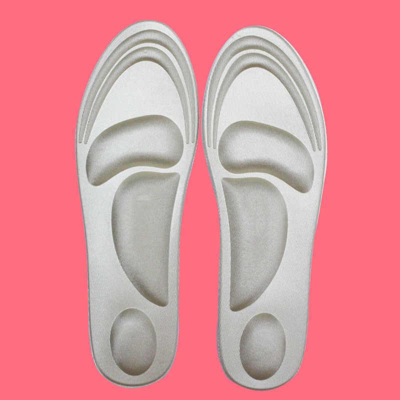 4d esporte esponja palmilha macia salto alto sapato almofada alívio da dor inserção almofada de almofada