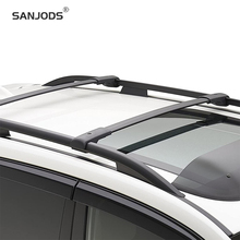 SANJODS Roof Rack Pair OE Style Aluminum Bolt-On Roof Rack Rail Cross Bar Baggage Carrier Replacement For Subaru Forester 14-18