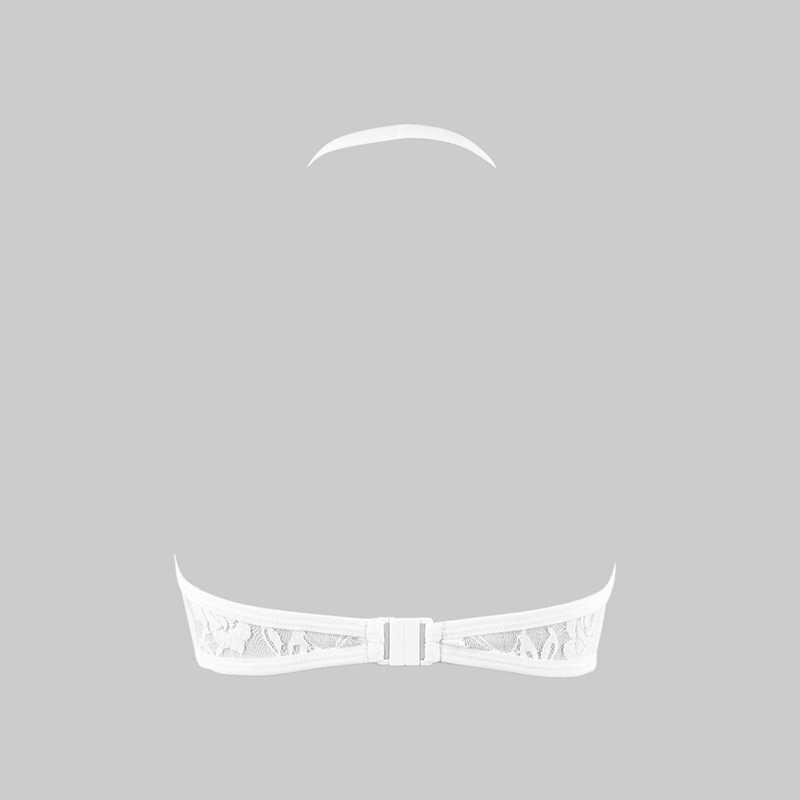 2019 сексуальный кружевной Дамский прозрачный бюстгальтер тонкий цветочный без рукавов холлосины слинг немягкий бюстгальтер без косточек хит