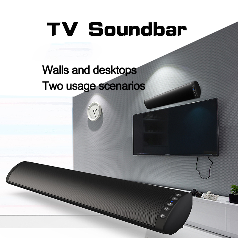 Bluetooth soundbar speakers computer wired and wireless bluetooth speakers Home Theater TV sound bar with Remote Control