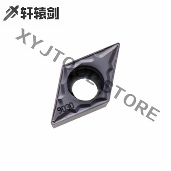 10pcs External Turning Tools Inserts 10PCS DCMT11T302-HMP  PC9030H Material High Quality Hard Alloy For CNC Lathe Tools 10pcs rjp30h1 to220f