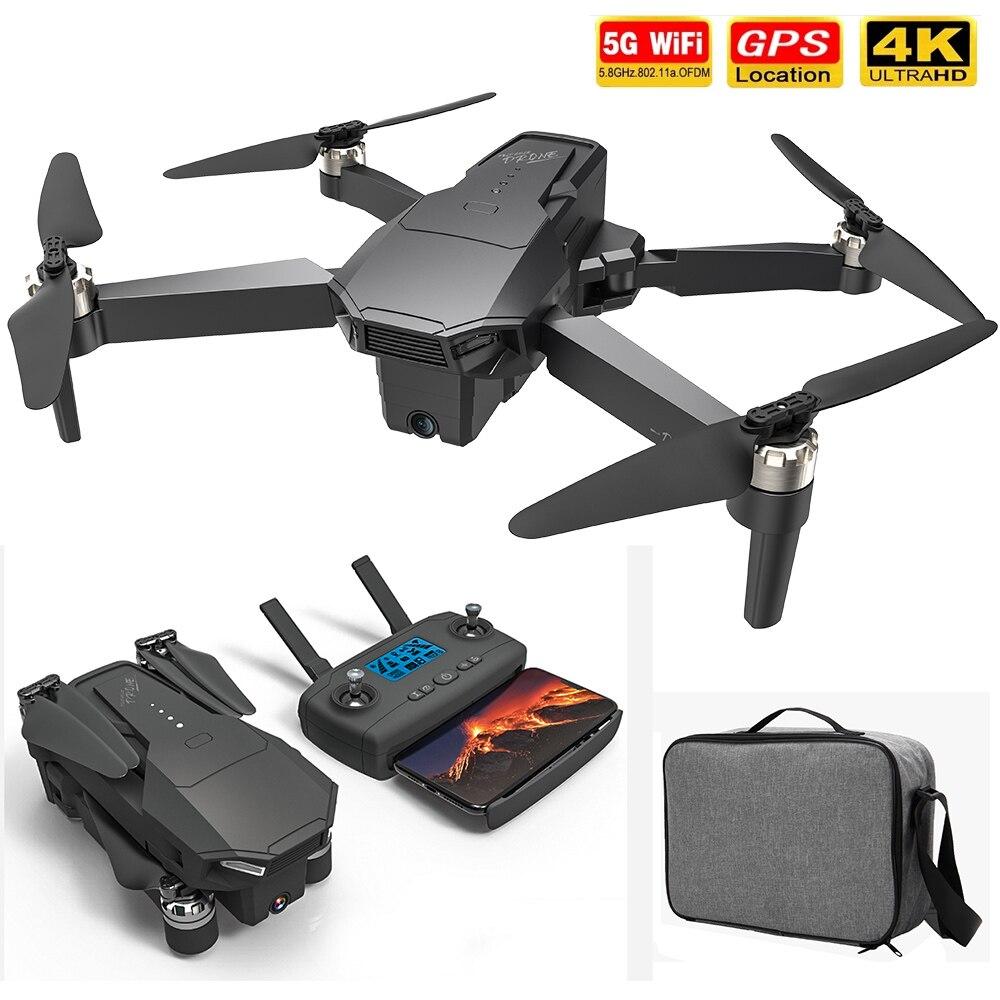 KF107 GPS, беспилотные летательные аппараты с 4K HD двойной Камера 5G Wi-Fi 25 минут 1,5 км междугородние FPV Бесщеточный Quadcopter Профессиональный детская ...