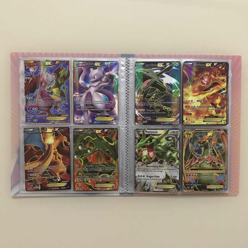 Bộ 300 Game Pokemon Thẻ GX Tag Team Sáng Takara \ T \ T \ T \ T \ T \ T \ T \ TBúp Bê Tomy Đồ Chơi Charizard Mewtwo Mega Trận Carte 60 100 200 chiếc Thẻ Album Sách