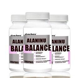 El equilibrio de ANINU de 120P X 3P ayuda con el equilibrio de la energía celular y el cromo soporta el equilibrio del azúcar en sangre y la glucosa ¡utilización!